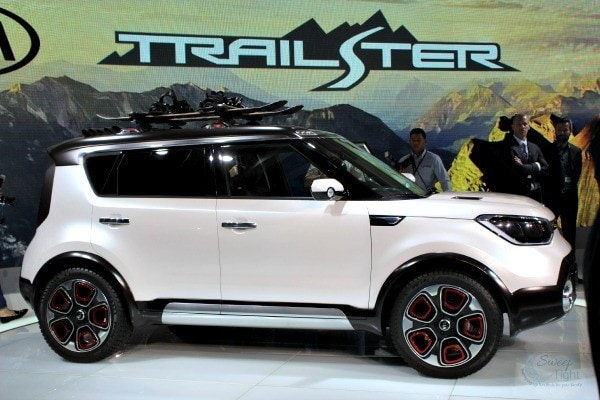 2015 Chicago Auto Show Kia Trail'ster
