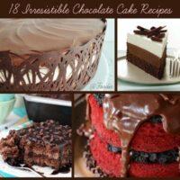 18 Irresistible Chocolate Cake Recipes