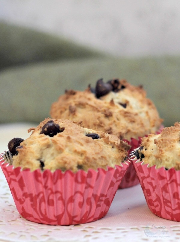 Vanilla Rich Chocolate Chip Muffins Recipe