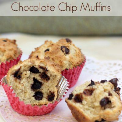 Vanilla Rich Chocolate Chip Muffins Recipe