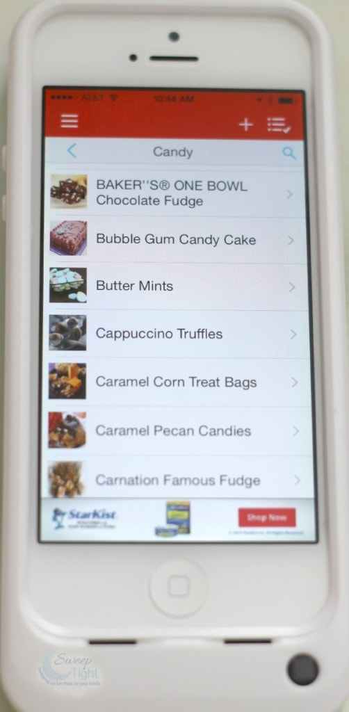 MyMixx Recipes in App