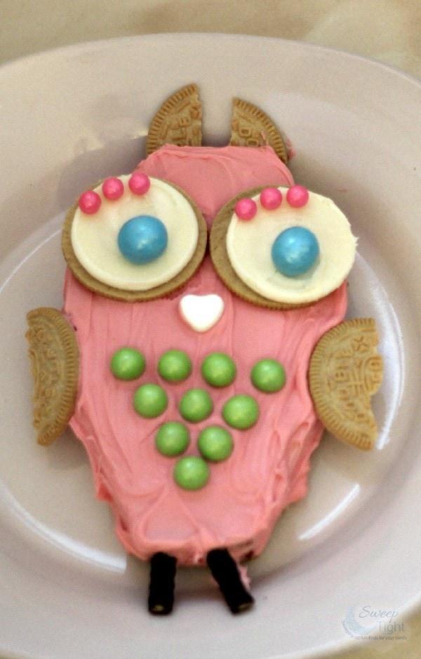 DIY Owl Cake