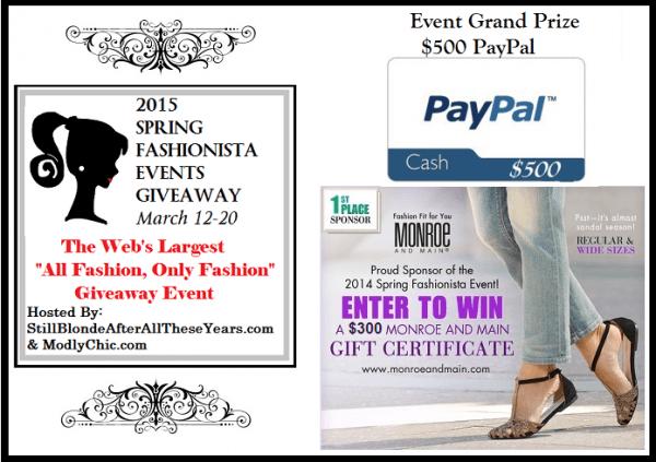 Spring Fashionista Grand Prize