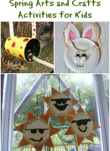 5 Spring Arts and Crafts Activities for Kids