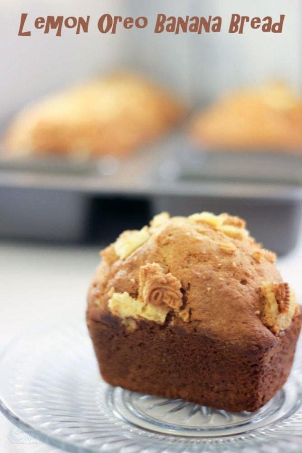 Lemon Oreo Banana Bread Recipe