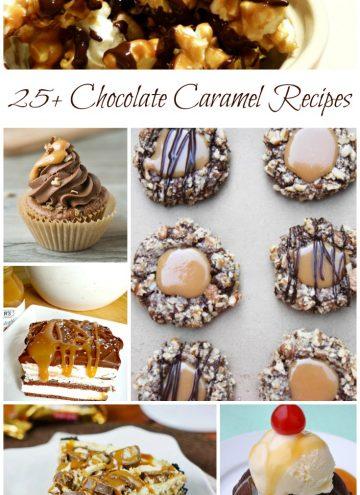 Celebrate Chocolate Caramel Day – Recipe Roundup
