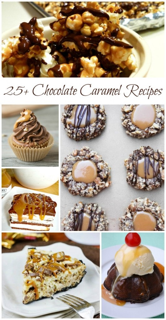 Celebrate Chocolate Caramel Day - Recipe Roundup