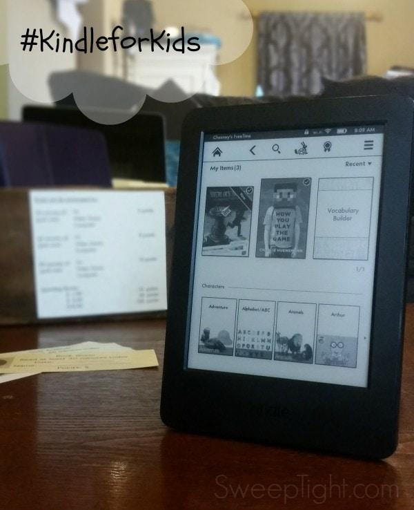 Kids read more with Kindle #KindleforKids #clevergirls #spon