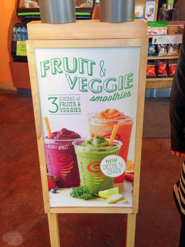 New Fresh Squeezed Juice at Jamba Juice