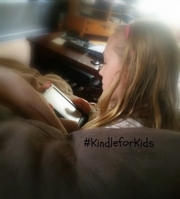 My kids love to read more on their Kindle #KindleforKids #CleverGirls #spon