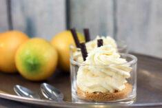 Lemon Oreo No Bake Cheesecakes for Two Recipe