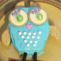 DIY Owl Cake #CakeMyDay