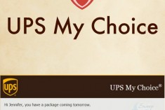 UPS My Choice Membership - I'm in Love