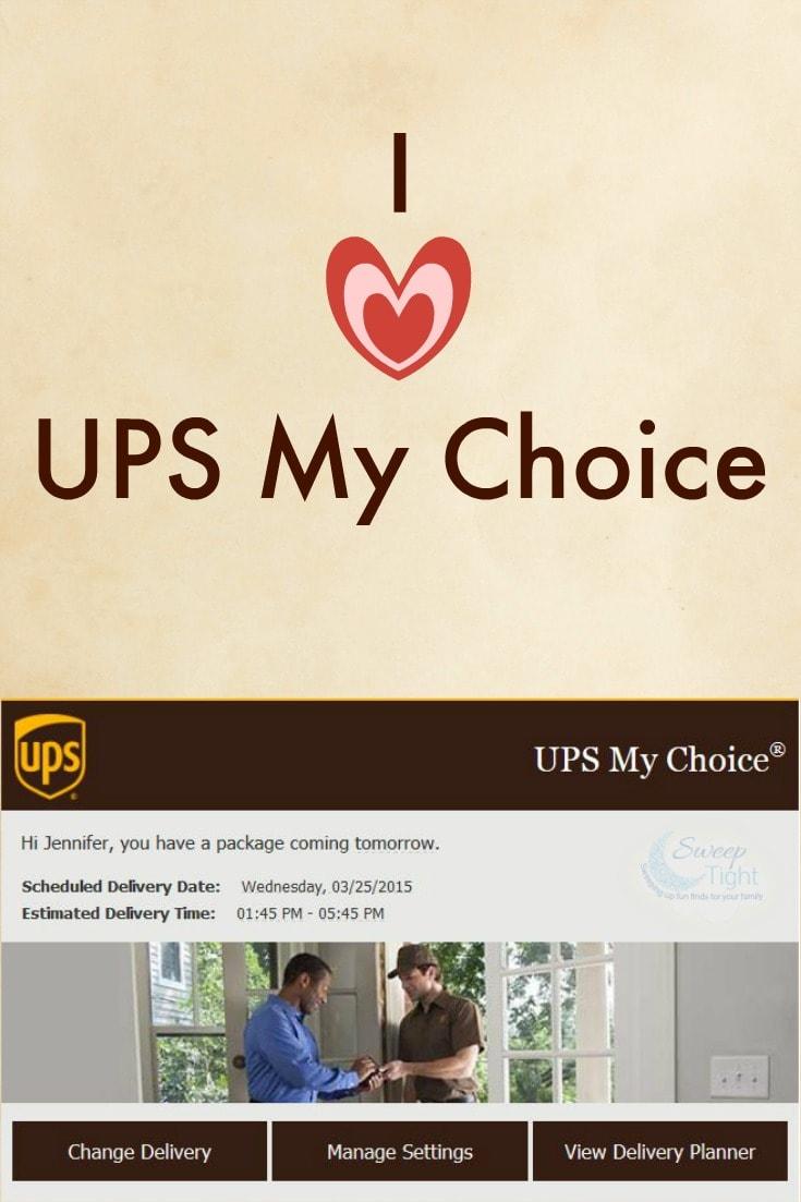 UPS My Choice Membership - I'm in Love