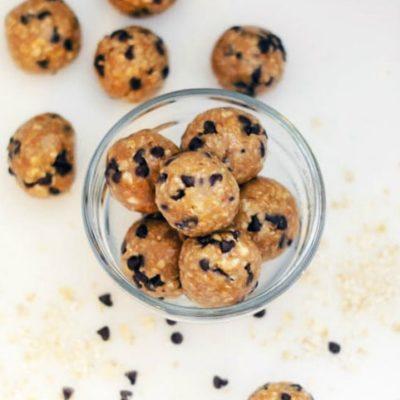 No Bake Peanut Butter Oatmeal Energy Balls Recipe