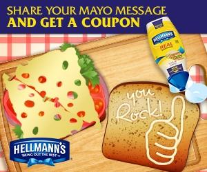 Hellmann's Mayo Coupon Savings