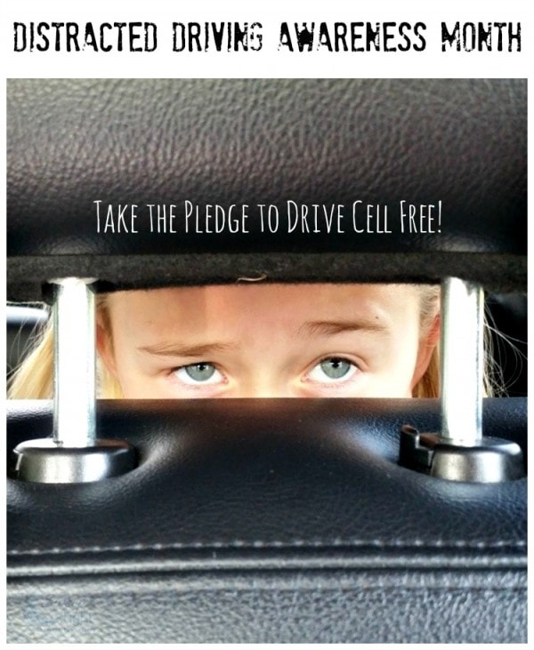 Distracted Driving Awareness Month - Put Down the Phone