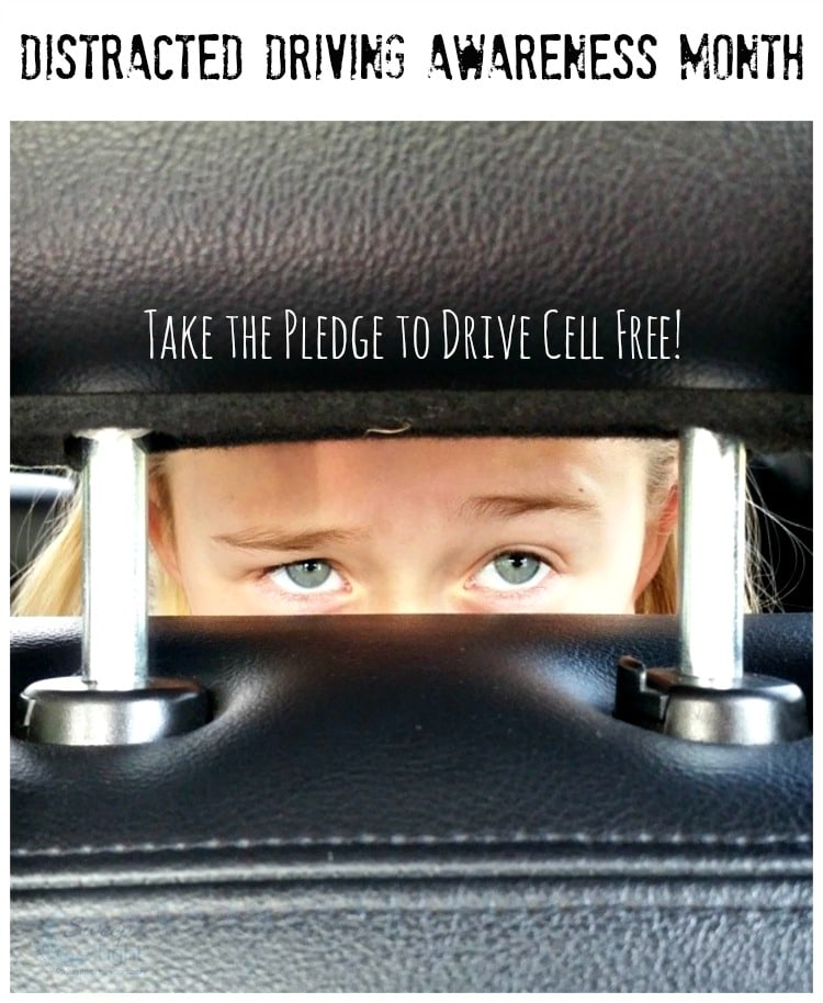Distracted Driving Awareness Month – Put Down the Phone