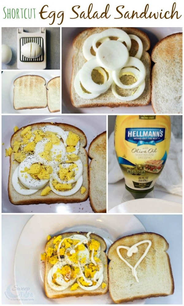 Shortcut Egg Salad Sandwich Recipe