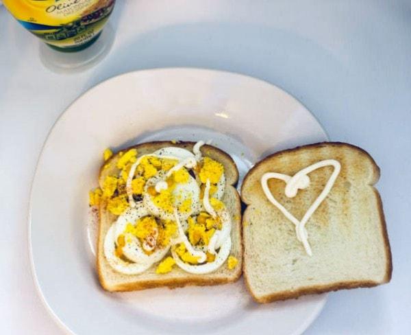 Shortcut Egg Salad Sandwich Recipe