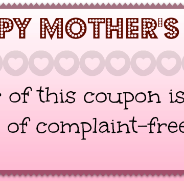 Mothers Day Gifts That Don't Suck – Free Printable