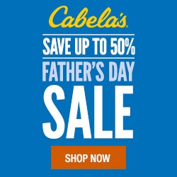 Gift Ideas for Men who Love the Outdoors #CabelasGiftsForDads