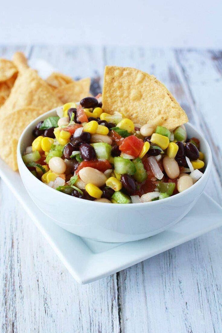 Bean Salad Recipe - My MIL's Famous Galena Caviar