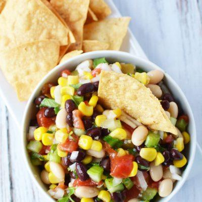 Bean Salad Recipe – My MIL's Famous Galena Caviar