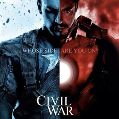 New Captain America Movie, Civil War is on Its Way