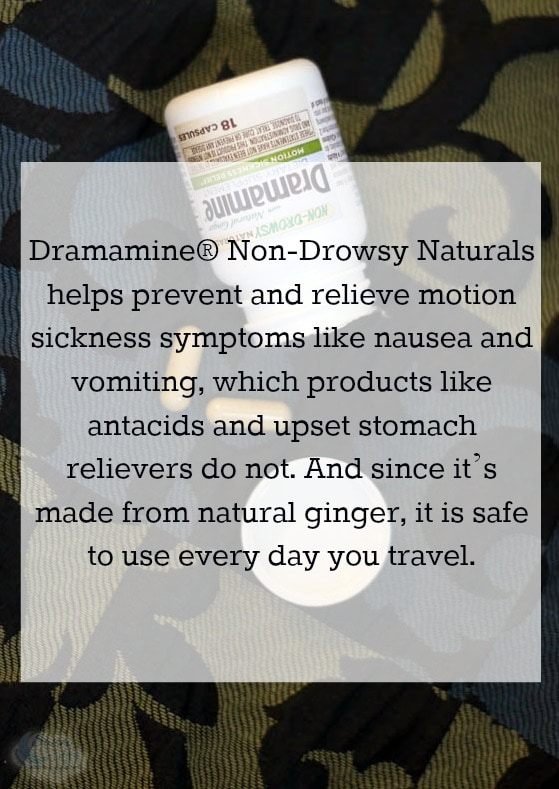 New Dramamine Non Drowsy with Ginger