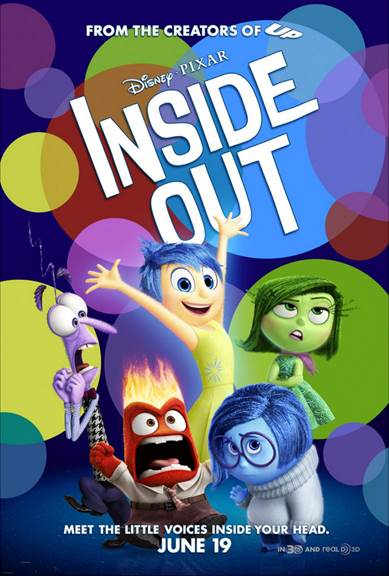 Disney Pixar's Inside Out movie poster #InsideOutEvent