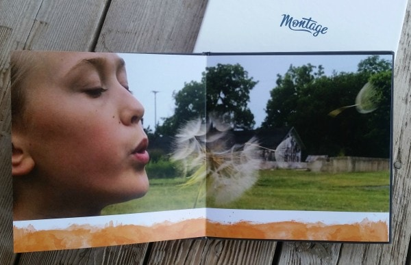 Best quality photo book I've ever seen. #Montage #MothersDay #giftideas #spon