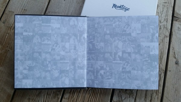 Inside my Montage photo book #love this! #MothersDay #spon