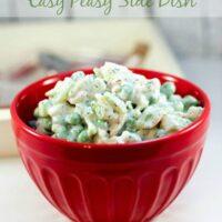 Pea Salad Recipe - Easy BBQ Side Dish