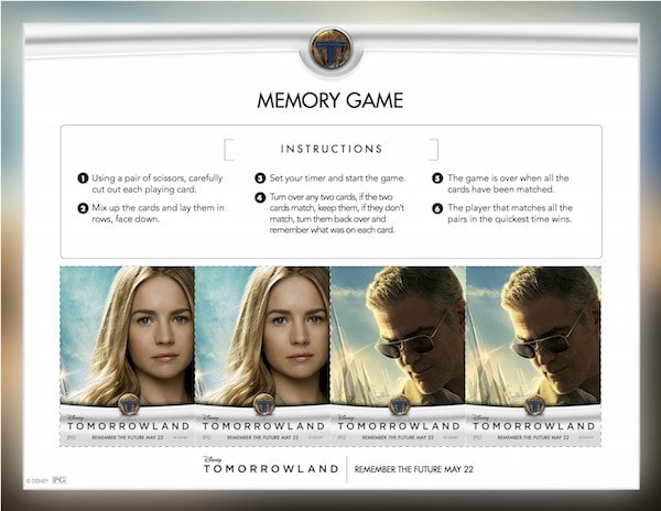 Tomorrowland Memory Game #Tomorrowland