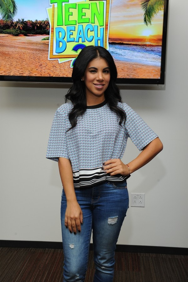 Disney stars Chrissie Fit #TeenBeach2Event