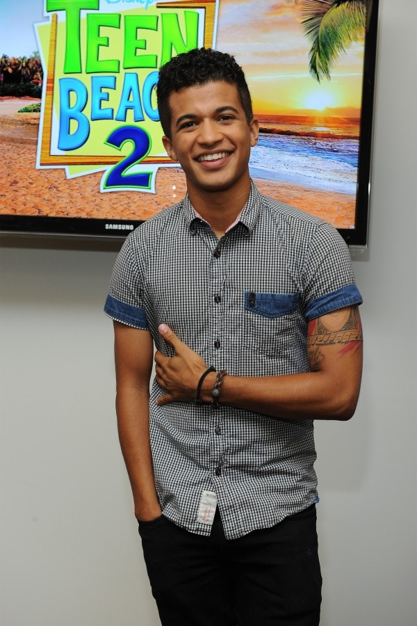 Disney stars Jordan Fisher #TeenBeach2Event