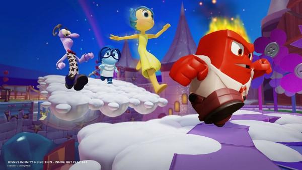 Disney Infinity 3.0 gameplay #InsideOutEvent