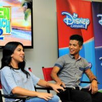 Disney Stars Chrissie Fit and Jordan Fisher #TeenBeach2Event