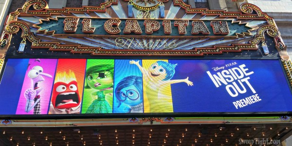 Inside Out Movie Premiere at El Capitan Theatre in LA #InsideOutEvent