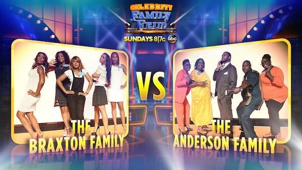 First Episode of Celebrity Family Feud #CelebrityFamilyFeud #ABCTVEvent