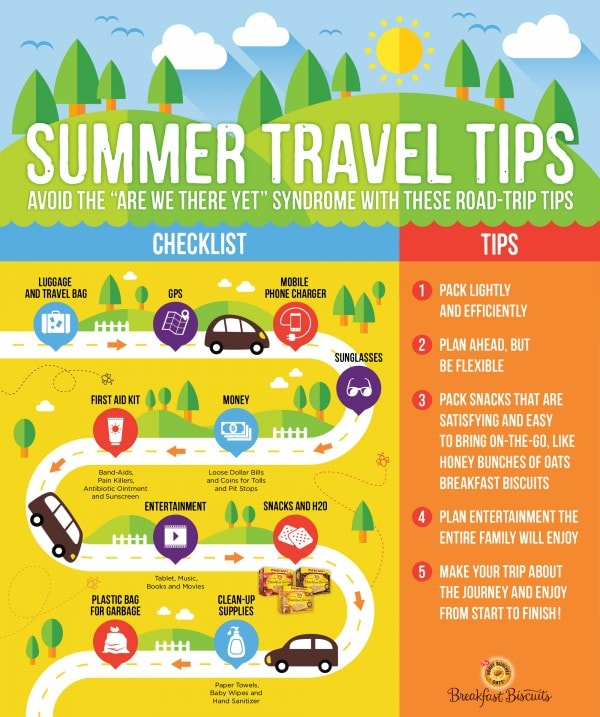 Family Road Trip Tips Don't forget the road trip snacks! AD