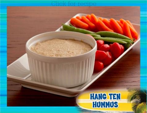 Teen Beach 2 Viewing Party Recipes: Hang Ten Hummus #TeenBeach2Event