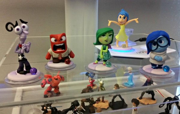 Disney Infinity 3.0 Inside Out game characters #InsideOutEvent