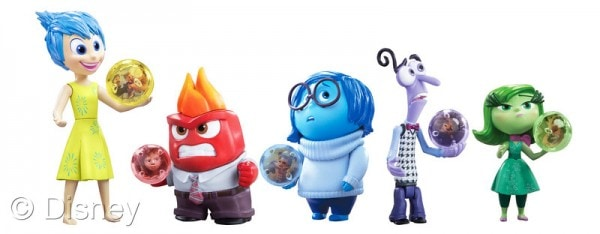 Inside Out Toys small figurines with Memory Spheres #InsideOutEvent