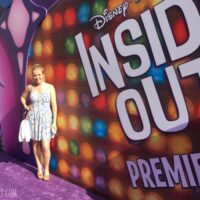 Inside Out Movie premiere on the purple carpet! #InsideOutEvent