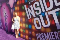 Inside Out Movie premiere on the purple carpet! #InsideOutEvent