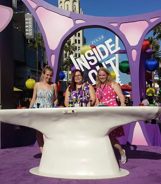 Inside Out Movie premiere in Hollywood #InsideOutEvent