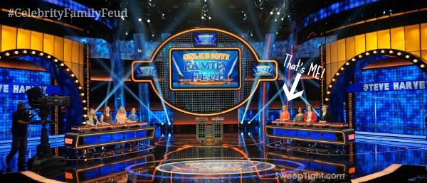 I'm on set of Celebrity Family Feud! #CelebrityFamilyFeud #ABCTVEvent