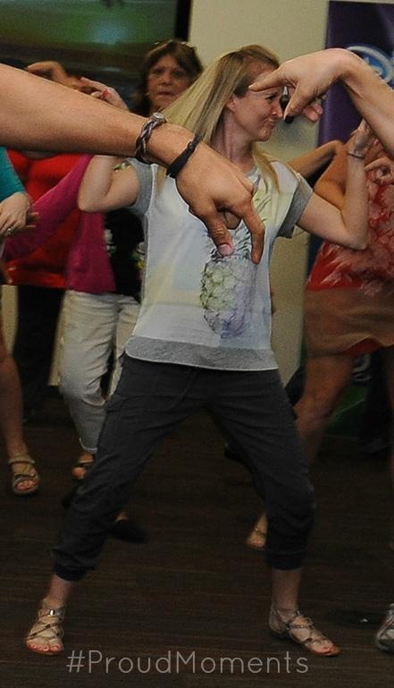 LOL Teach me how to dance #TeenBeach2Event